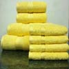 8PC. Set Yellow Egyptian Cotton Towels ed8pc (RPT)