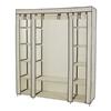 59 In. Portable Clothes Closet Wardrobe ULSF03_(AZFS)