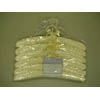 Ivory Virgo Padded Fabric Hanger w/o Pins VGP8861 (PM)