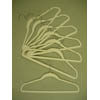 Velvet plastic huggable suit hanger VVT9045 (PMFS)