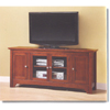 Wood TV Console W52C4DOWB(WE)