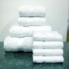 8PC Set White Egyptian Cotton Towels Set ed8pc (RPT)
