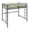 Full Size Metal Loft Bed BDOLBL(WFFS)