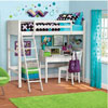 Solid Wood In The Zone Loft Bed YZ11-084-900-48(WFS)