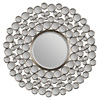 Ren-Wil Chic Satin Nickel Round Mirror 14803359(OFS)