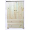 Solid Wood 2-Door Chest CH-2D (AI)