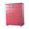 Solid Wood 7-Drawer Chest CH-7D (AI)