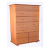 Solid Wood 9-Drawer Chest CH-9D (AI)