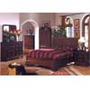 Cherry Finish Bedroom Set CM7212_ (IEM)