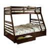 Bunk Bed with 2 Underbed Drawers California III(FAFS)