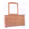 Solid Wood Double Dresser DD-8 (AI)