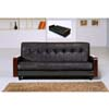 Sofa Convertibles With  Wooden Armrest DS-1018 (TH)