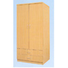 2 Door & 2 Drawer Wardrobe WD117 (ES)