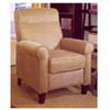 Pure Suede Beige Recliner F7727 (PX)