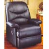 Black Leather Recliner F7729 (PX)