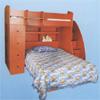 Custom Made Twin/Full Loft Bed FH-78(CT)
