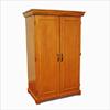 Solid Wood Wardrobe/Linen closet 2 Doors GCC3(GH)