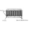 10 In. Innerspring Futon Mattress (ML)