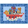Rug KI003 Azure Blue (HD) Kidz Collection