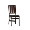 Triena Slat Back Set Of 2 Folding Chair 01828(LNFS)