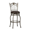 Crown Counter Stool 24 In. 02758MTL(LN)(Free Shipping)