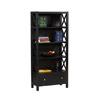 Anna Collection 5 Shelf Bookcase 86103C124-AB-KD-U (LN)