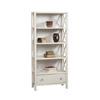 Anna 5 Shelf Bookcase White 86103C147-A-KD-U (LN)
