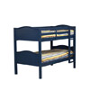 Amarillo Twin/Twin Bunk Bed Blue 90153BLU(LNFS)