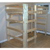 The Manhattan Solid Wood Adult Loft Bed 1000 Lbs Wt. Cap.