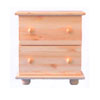 Solid Wood Nightstand NS (AI)