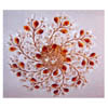Antique Bronze Crystal Flower Decor SC-153/8 (HT)