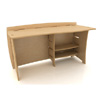 60 In. Straight Desk  SDB-130_ (LF)