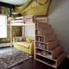 Solid Wood Deep Step Storage (USMFS)