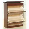 Solid Birch Wood Shoe Cabinet TZ27-B(GH)