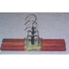 3 PK Wooden Skirt Hanger WH0015_(HDS)
