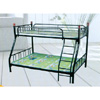 Twin/Full Metal Bunk Bed Y1702TxF (E&S)