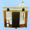 Custom Made Mini Bar On Wheels Z-8 (CT)