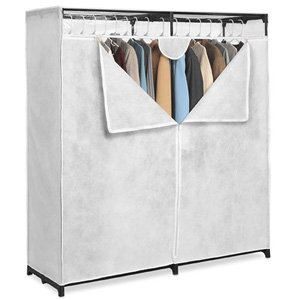 Canvas 60 In. Extra Wide Clothes Closet 001474950(WFS40)