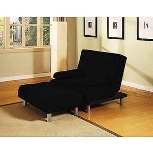 Manhattan Convertible Chair And Ottoman