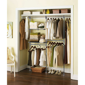 Mainstays Custom Closet Organizer Kit 007432893(WFS60)