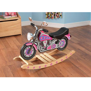 KidKraft Flower Power Rockin Motorcycle 10019(KKFS)