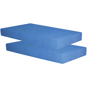 Sensations Memory Foam Mattress Set of 2 (WFS189)