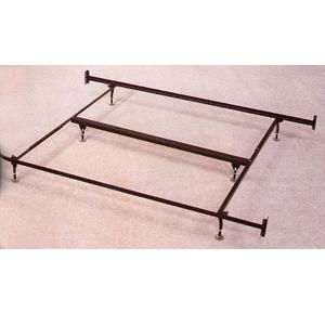 bed frames rails eastern king size bed frame for head footboard 1209 co. Black Bedroom Furniture Sets. Home Design Ideas