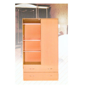 Wardrobe 2 Drawer 2 Door 120_119 (LF)