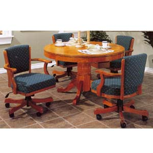 Oak Game Table 1260-48 (WD)
