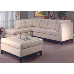 Sectional w/Free Over Sized Cocktail Ottoman 13001 (HB)