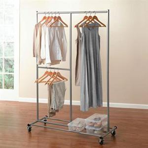 Jumbo Rolling Garment Rack 1594-94556-1054(BHFS)