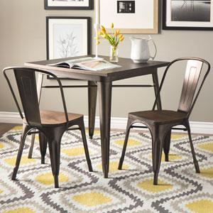 tabouret vintage wood seat bistro chair 16190403ofs - Tabouret Metal Vintage