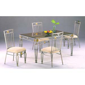 Glass top dining set 5 piece legacy dining set 2024 ml for Glass top dining table 36 x 60