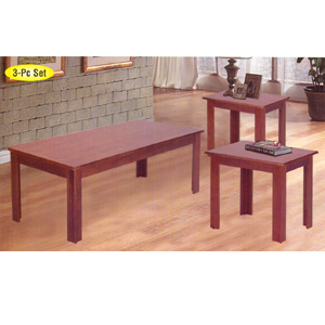 Coffee Table: 3 Pc Coffee End Table Set 2163 A ...